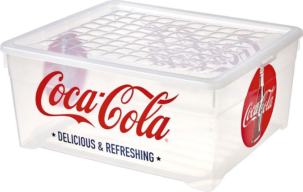 Box s víkem -10L – COCA COLA CURVER