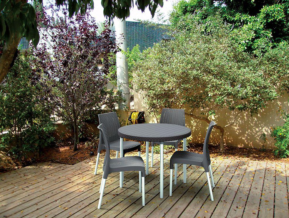 Zahradní set  JERSEY SET - antracit