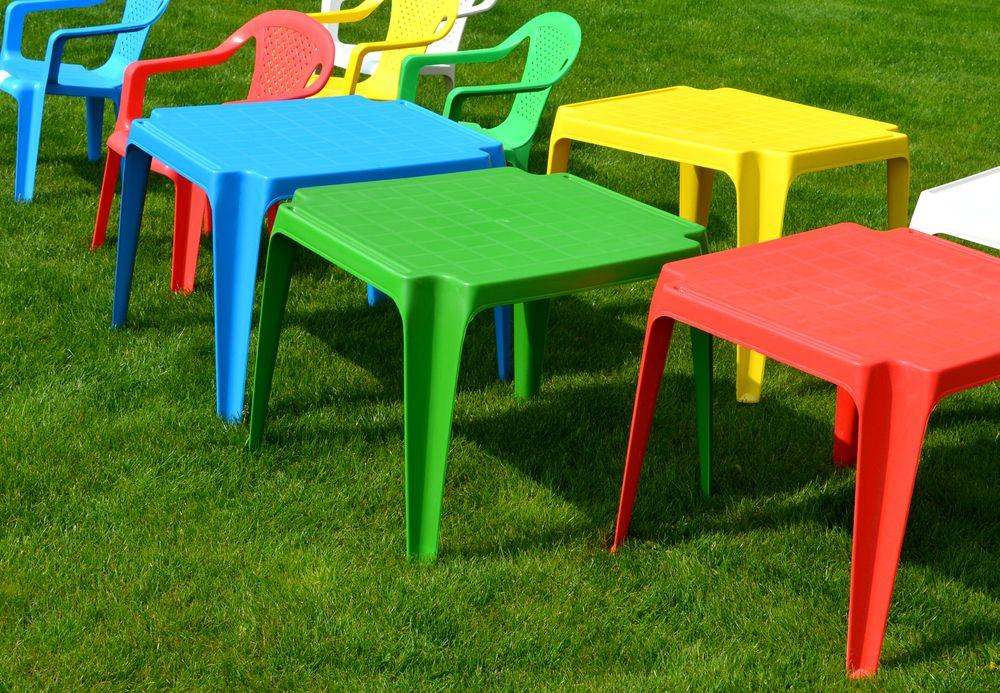 Dětský plastový stůl TONGA