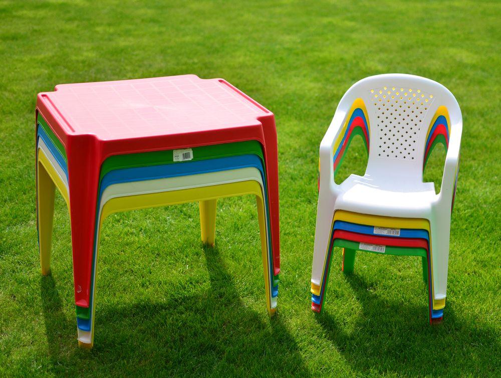 TONGA - dětský stůl plastový ROJAPLAST (Bílý plast)