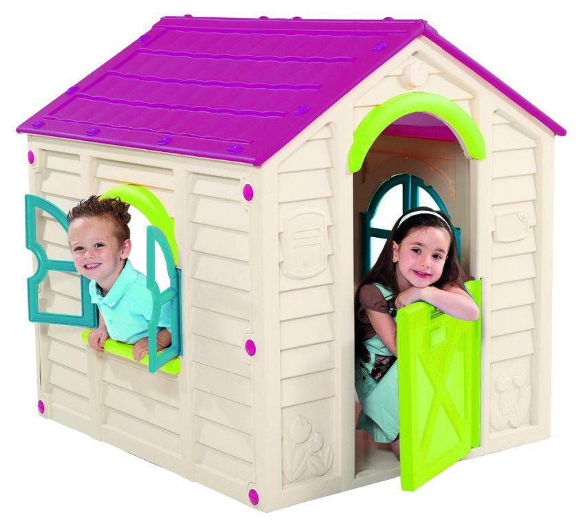 Dětský hrací domek RANCHO PLAYHOUSE – béžový