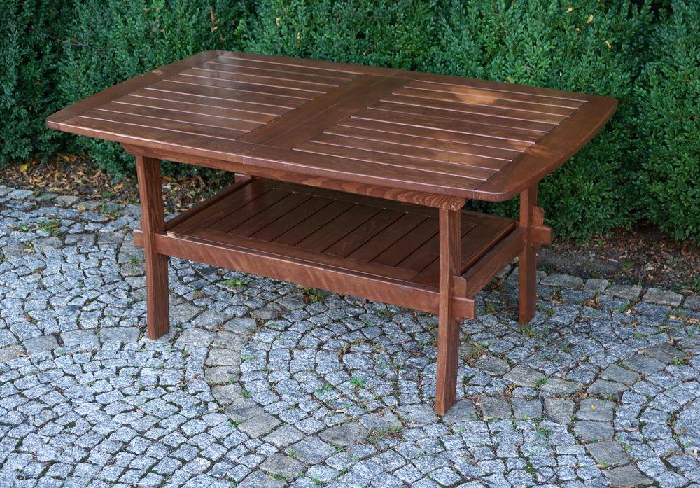 ROJAPLAST Zahradní dřevěný stůl rozkládací MORENO