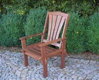 Tradgard MORENO Zahradní dřevěné křeslo