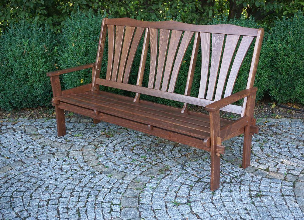 Zahradní dřevěná lavice MORENO