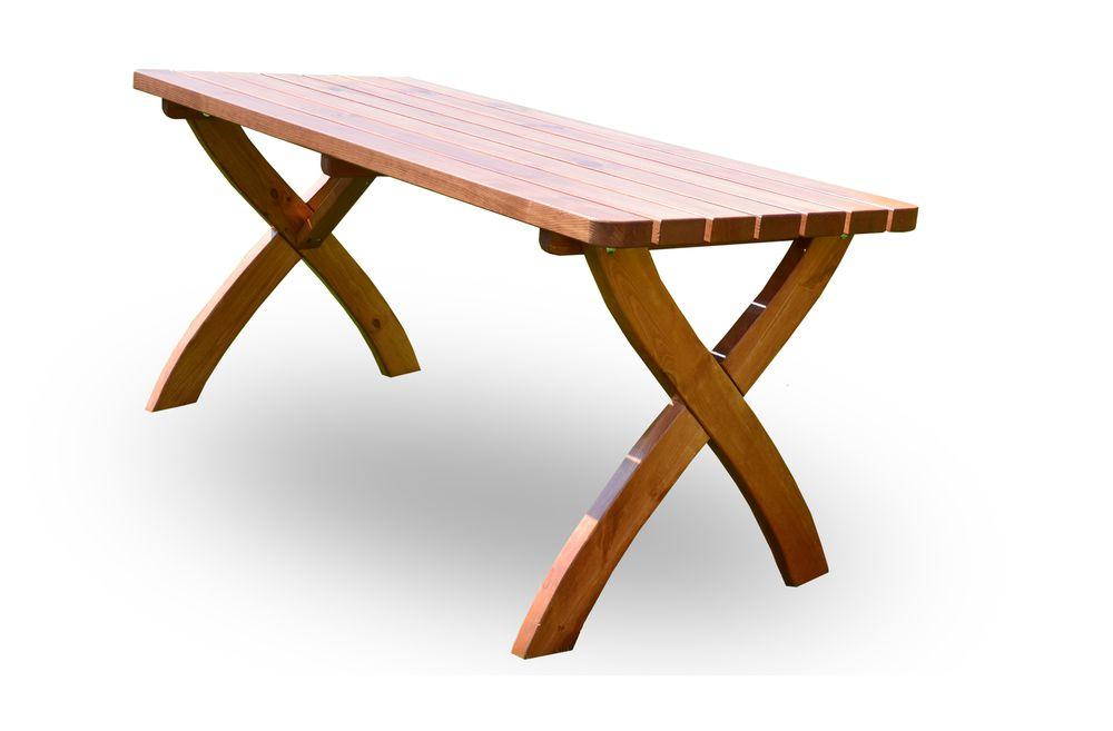 WOOD Zahradní dřevěný stůl STRONG - 160 cm