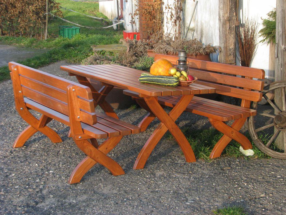 RojaPlast Dřevěná zahradní lavice STRONG masiv 160cm z masivní borovice ROPL.281/5