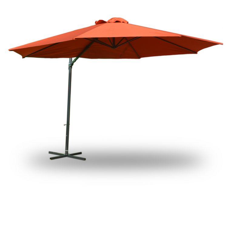 Slunečník 350cm - terracota
