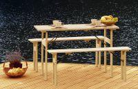 Tradgard Zahradní dřevěný set