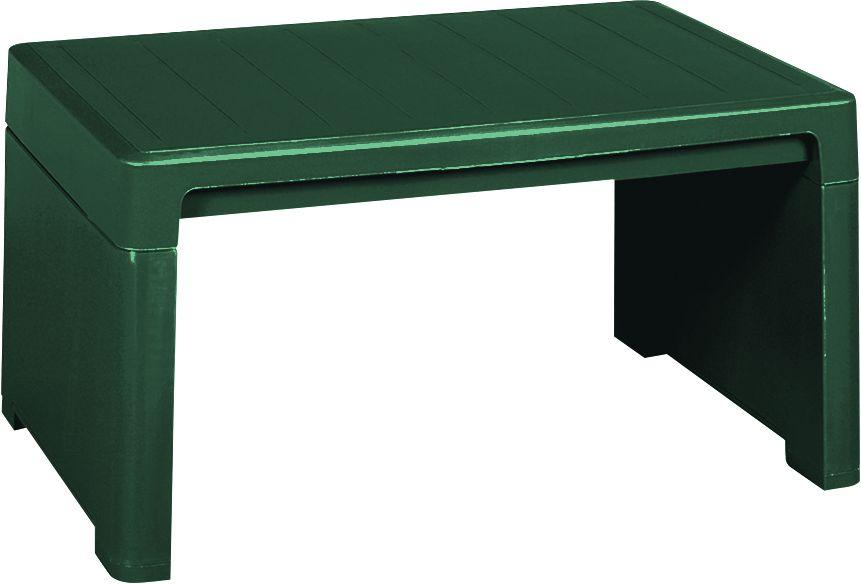 Zahradní plastový stolek LAGO zelený