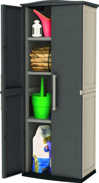 Úložná plastová skříň SHED TALL 179 x 70 x 50 cm