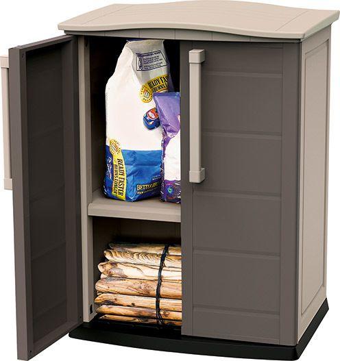 Plastová úložná skříňka SHED BASE 92 x 70 x 50 cm