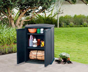 Plastová úložná skříňka BASE SHED - 92 x 70 x 50 cm