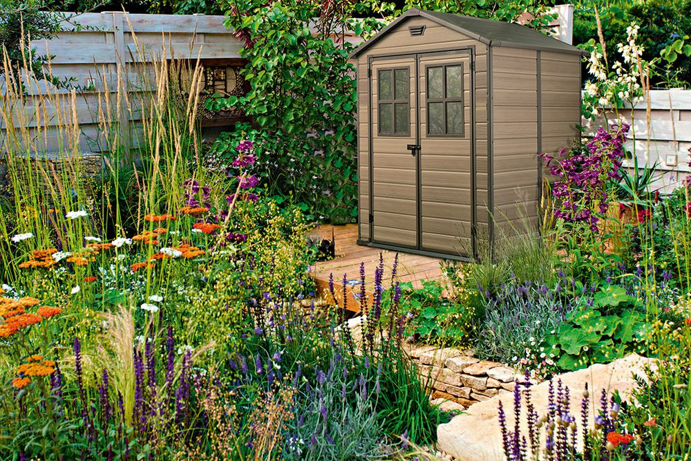 Zahradní plastový domek SCALA 226 x 185 x 152 cm