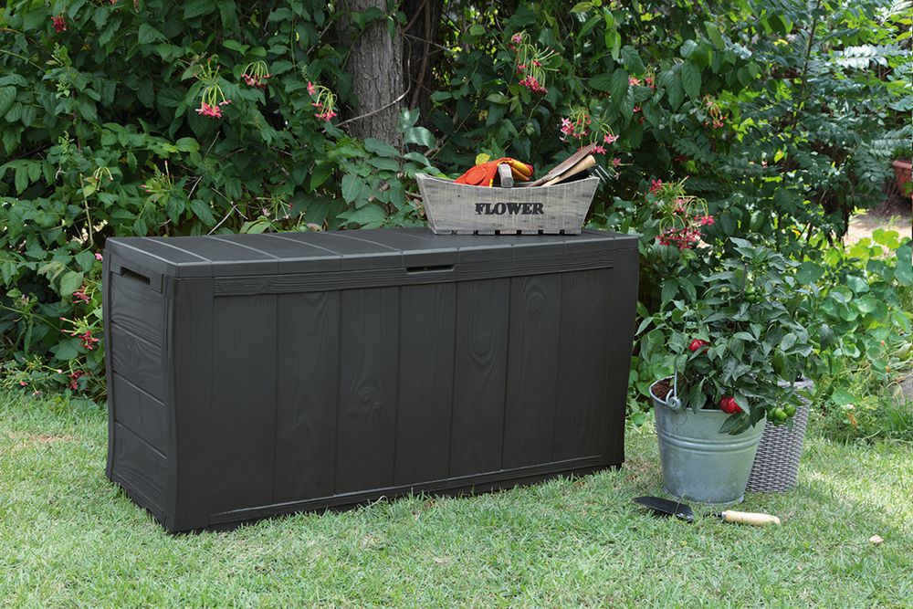 Zahradní úložný box SHERWOOD 58 x 117 x 45 cm