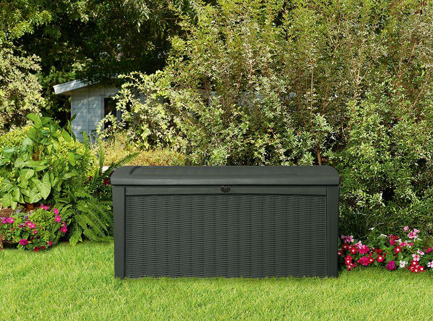 Zahradní úložný box BORNEO 63 x 130 x 70 cm