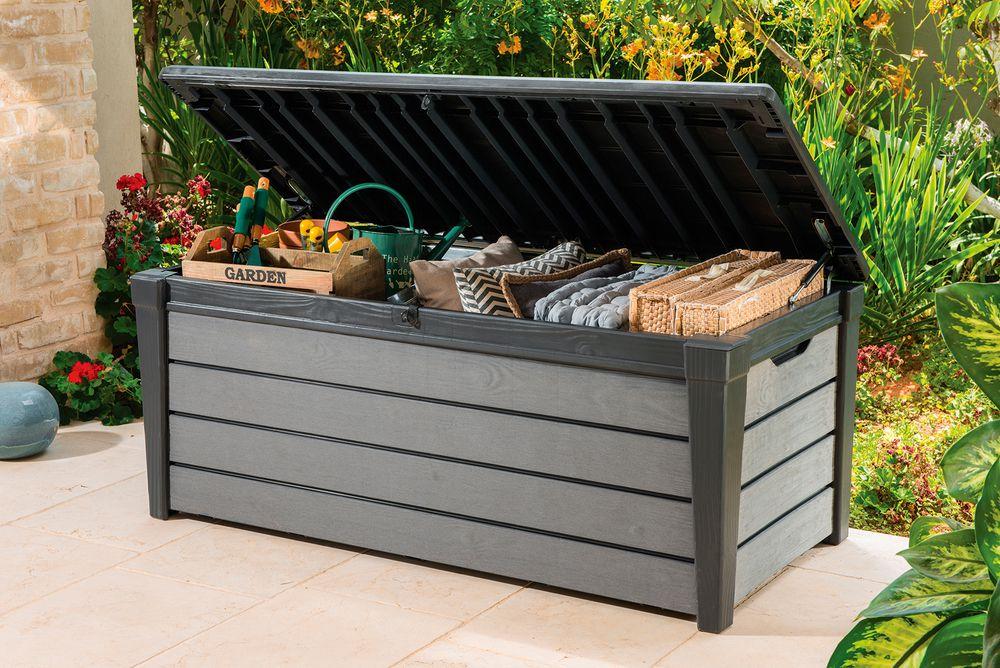 Zahradní box BRUSHWOOD – antracit + šedý