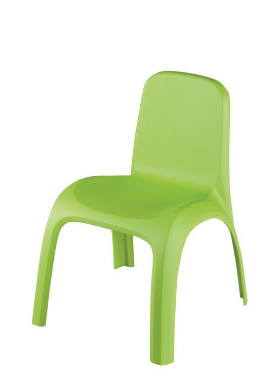 KETER KIDS CHAIR dětská židlička zelená 17185444