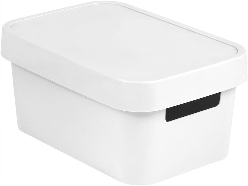 Úložný box INFINITY 4,5L - bílý