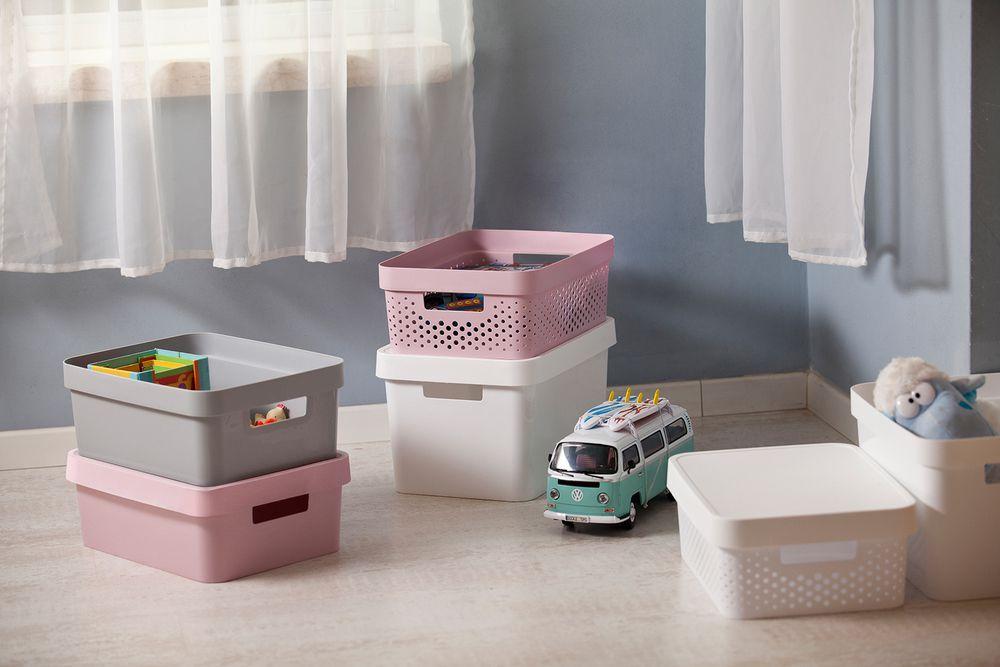 Úložný box INFINITY 4,5L - růžový