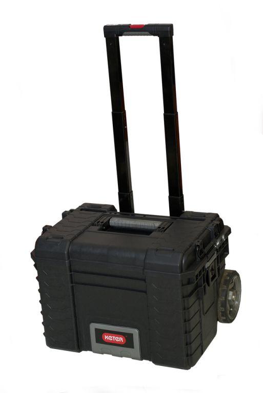 Pracovní kufřík RIGID s kolečky