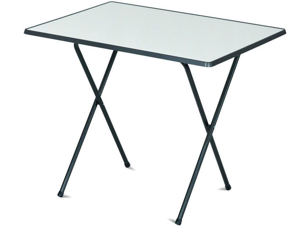 Stůl 60x80 camping SEVELIT antracit/bílá