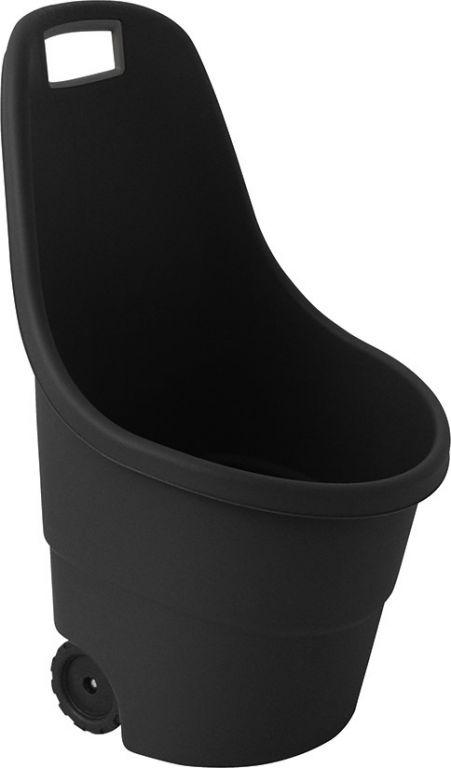 Plastový vozík EASY GO 55L – černá