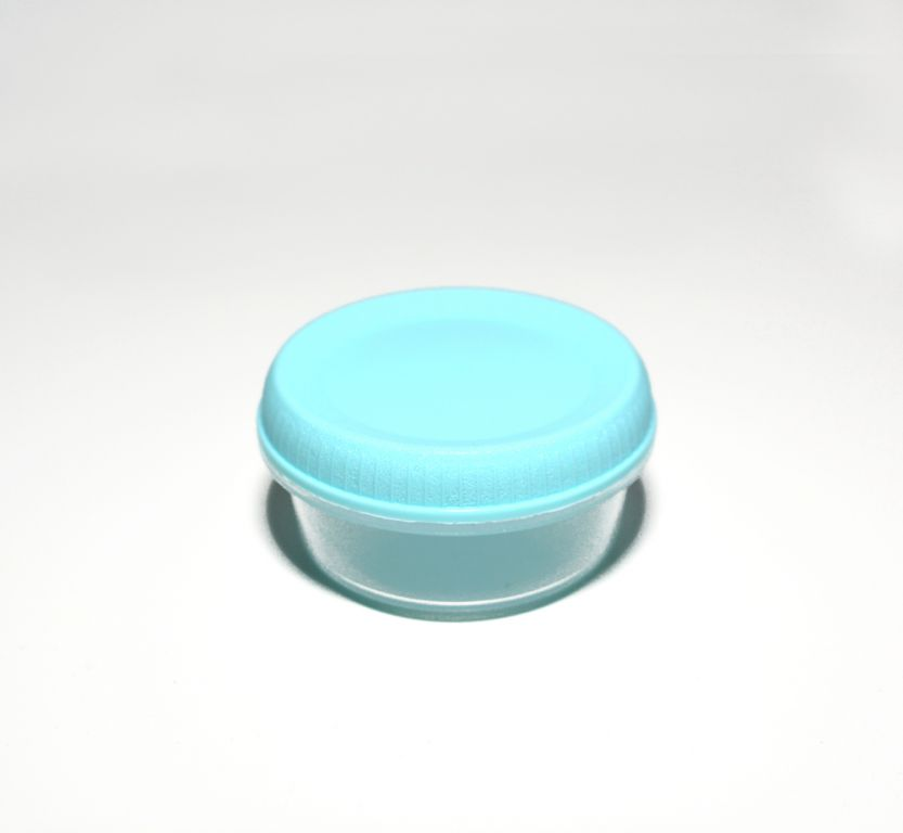 Cestovní dóza s příborem SMART TO GO 1,1L - modrá