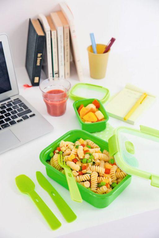 Dóza na potraviny SMART – 0,7L – zelená