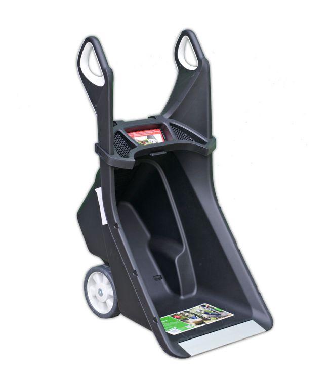 Zahradní vozík REALBARROW - 100L - šedo/černý
