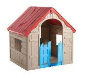 Keter FOLDABLE PLAYHOUSE Dětský hrací domek - béžový