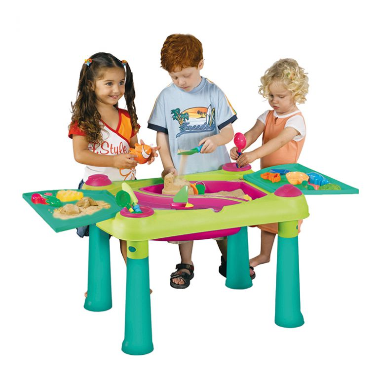 Keter Creative Fun Table zelený