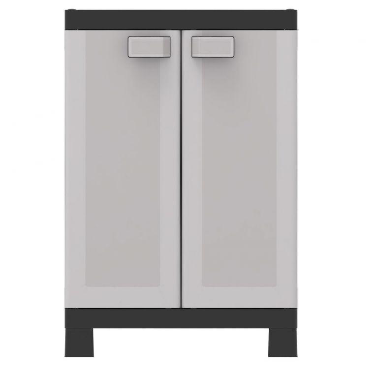 Plastová skříň LOGICO LOW – 97 x 65 x 45 cm
