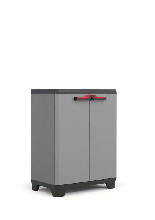 Plastová skříň STILO LOW - 90 x 68 x 39 cm