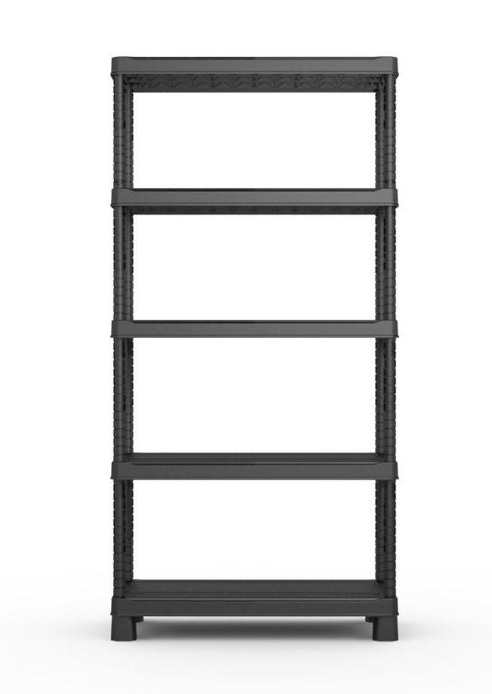Plastový otevřený regál PLUS TRIBAC 90/5 - 182 x 90 x 45 cm