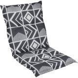 Sedák na nízké křeslo NAXOS NIEDRIG abstrakt 40334-700