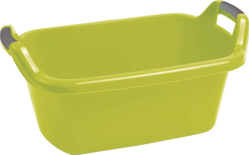 Umyvadlo s držadly CURVER 35L - zelená