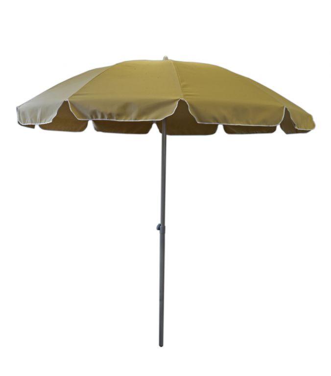 Zahradní slunečník - 2,5 m béžový