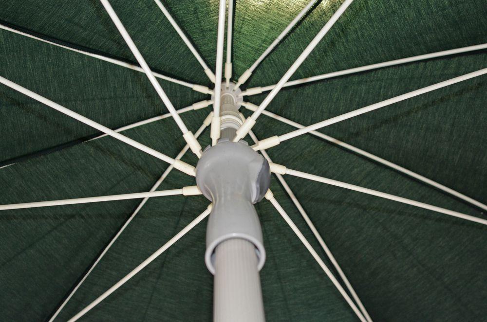 Zahradní slunečník - 3 m zelený