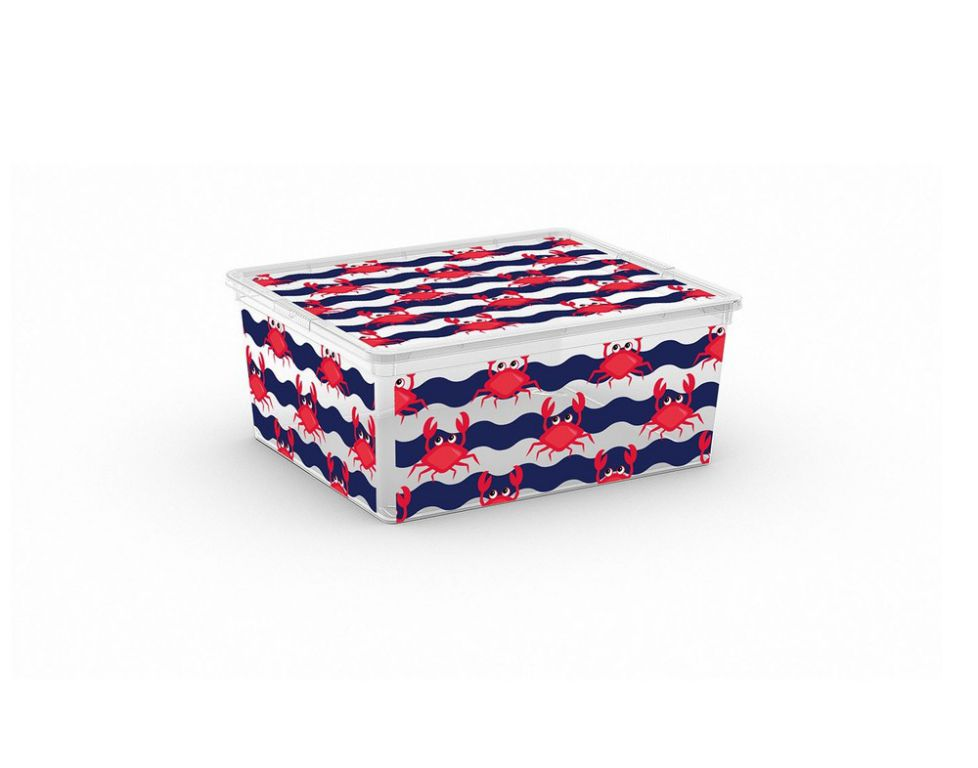 Plastový úložný KIS C box ANIMAL – M – krab