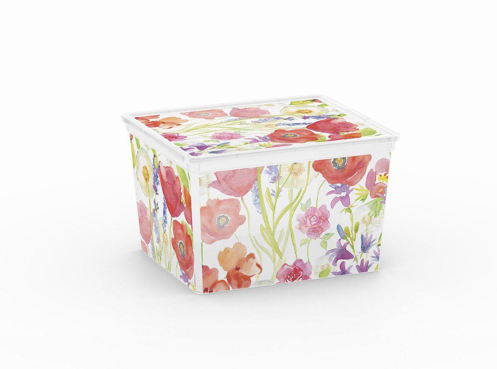 Plastový úložný box KIS C NATURE – CUBE