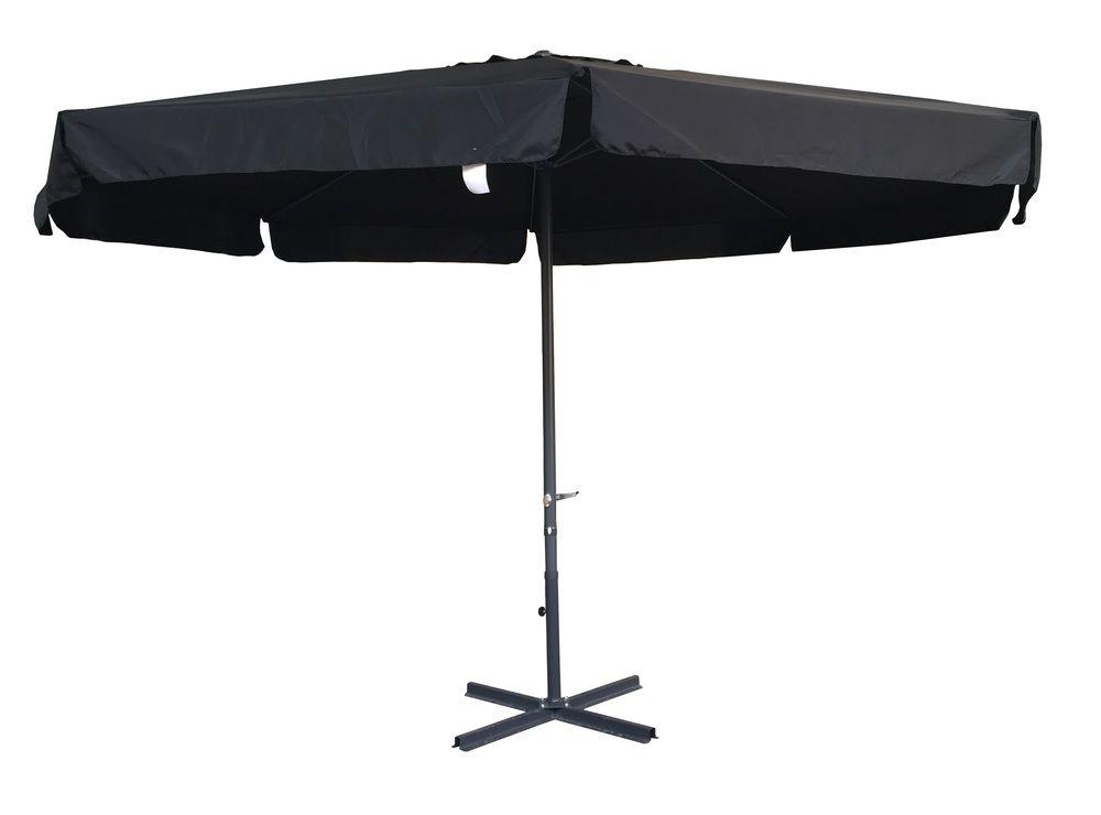 Slunečník STANDART 4 m - černý