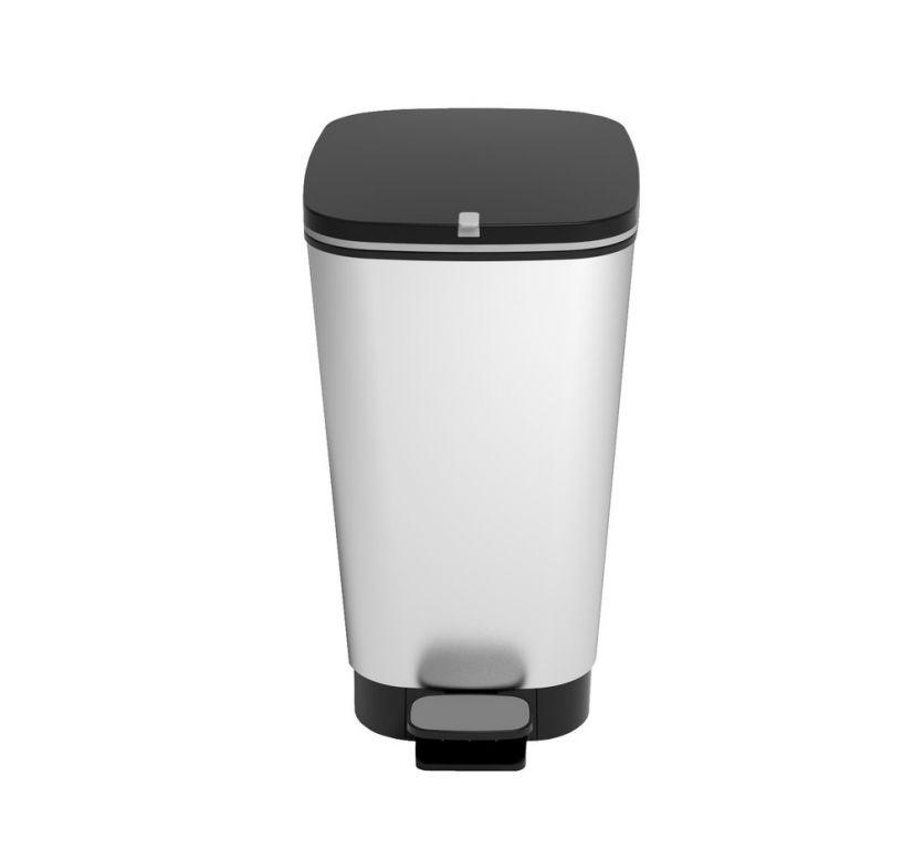 Odpadkový koš CHIC  35 L – stříbrný