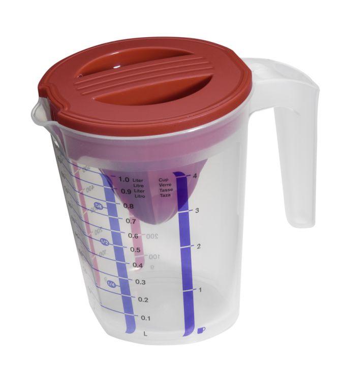 Plastová odměrná konvice - 1 L