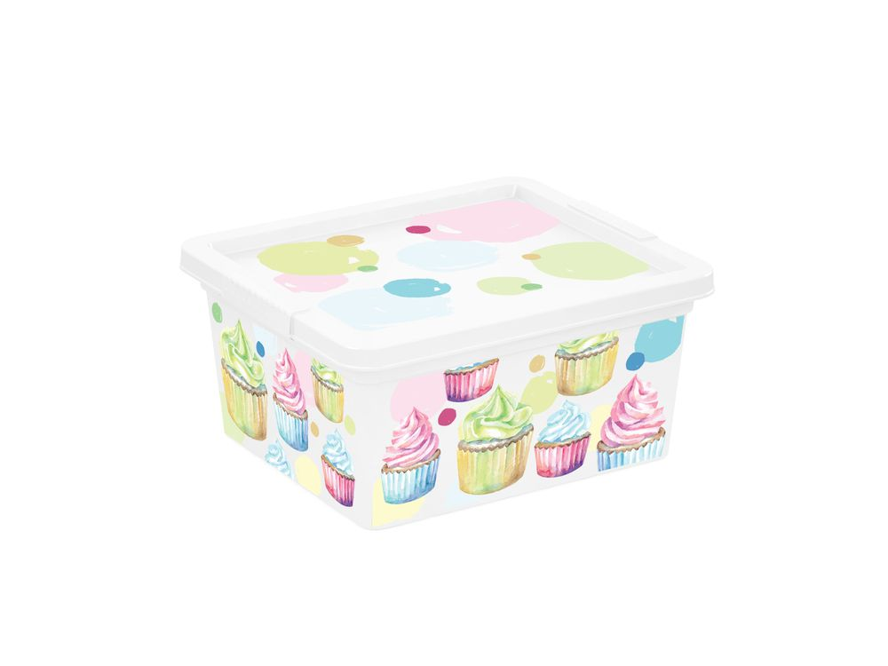 Plastový úložný box KIS C PORTOBELLO - XXS