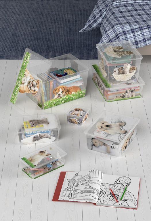 Plastový box KIS Puppy and Kitten – XL