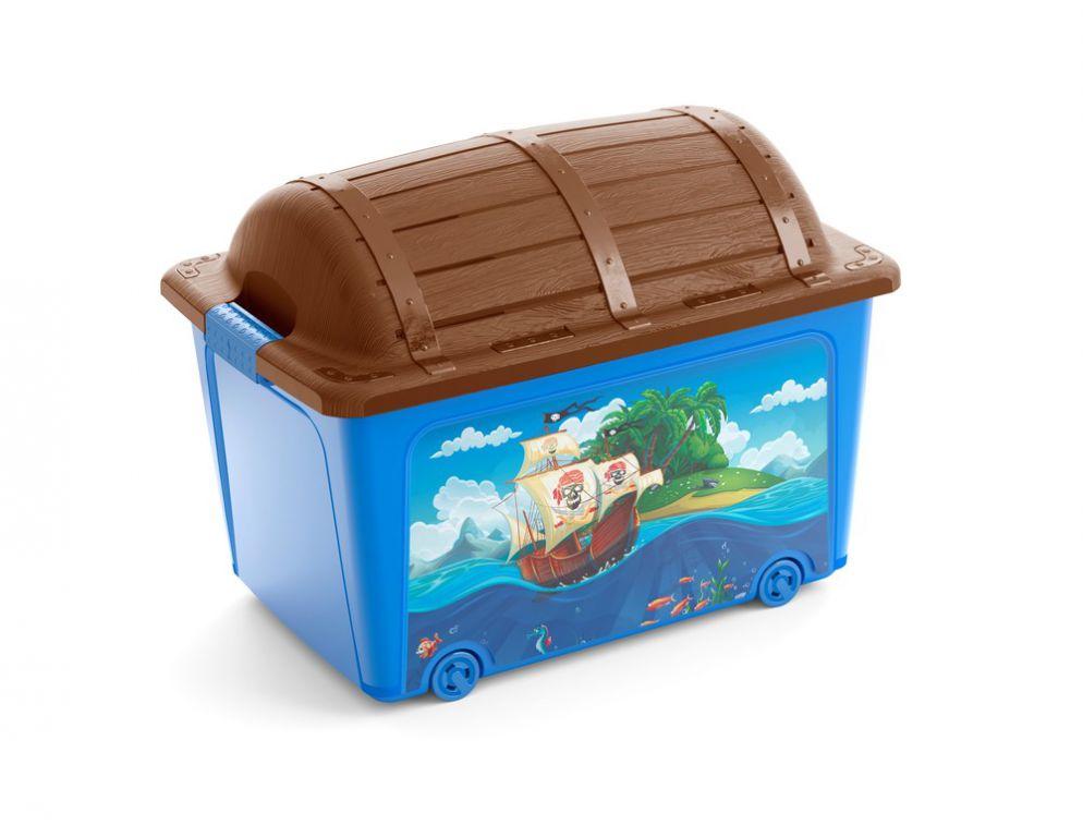Plastový box KIS - truhla pirátská
