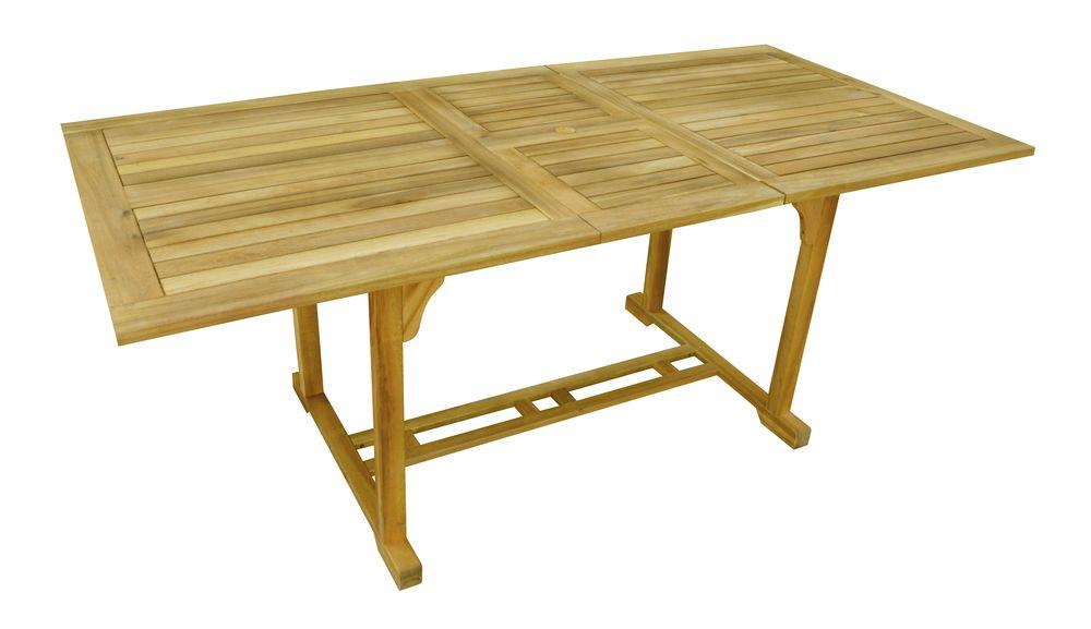 Zahradní dřevěný rozkládací stůl IRIS