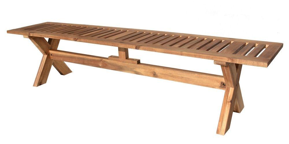 Dřevěná lavice GORDON - 200 cm