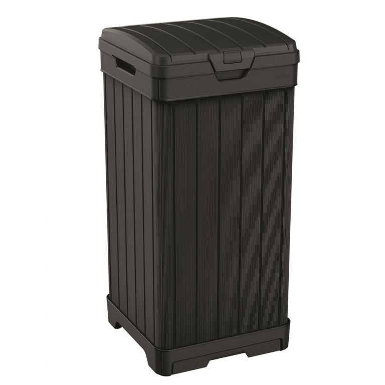 Odpadkový plastový koš BALTIMORE – 125 L