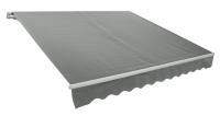 Markýza šedá - 2,95 x 2 m